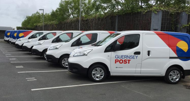 Guernsey Post introduces 18 electric vans to its postal delivery fleet