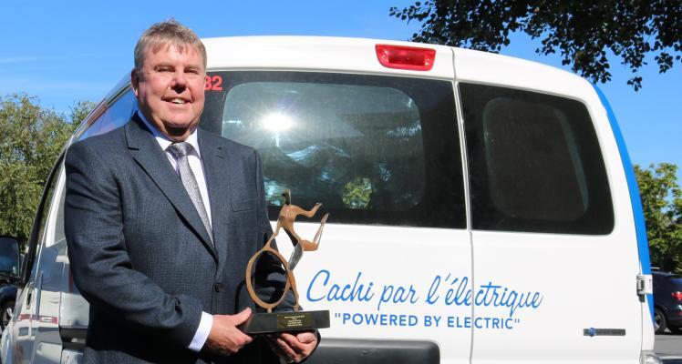 Guernsey Post win at the UK Motor Transport Awards