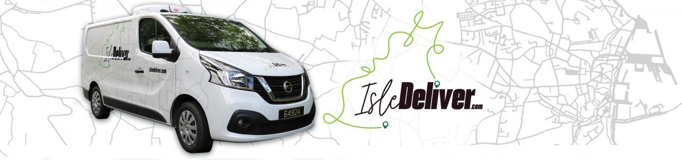 Isle Deliver logo slide