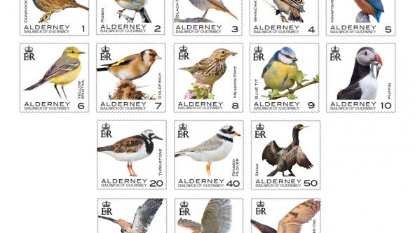 Alderney Bird Definitives