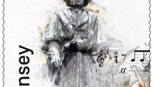 250th Anniversary of Beethoven, stamp 1