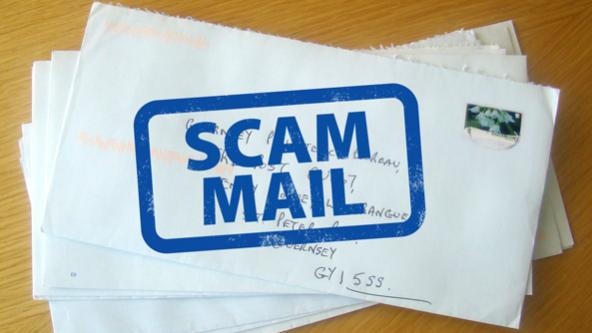 Scam Mail Advice