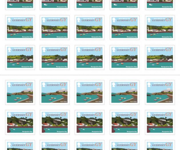 Guernsey Booklet of 50 Coast Stamps