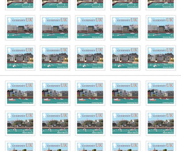 UK Stamp Booklet Coasts x50