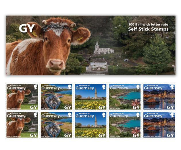 Guernsey Stamp Book of 100 stamps