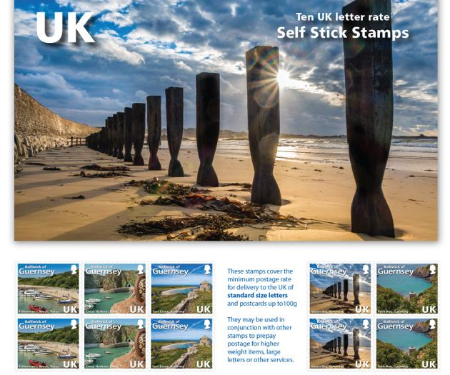 UK Stamp Book of 10 stamps