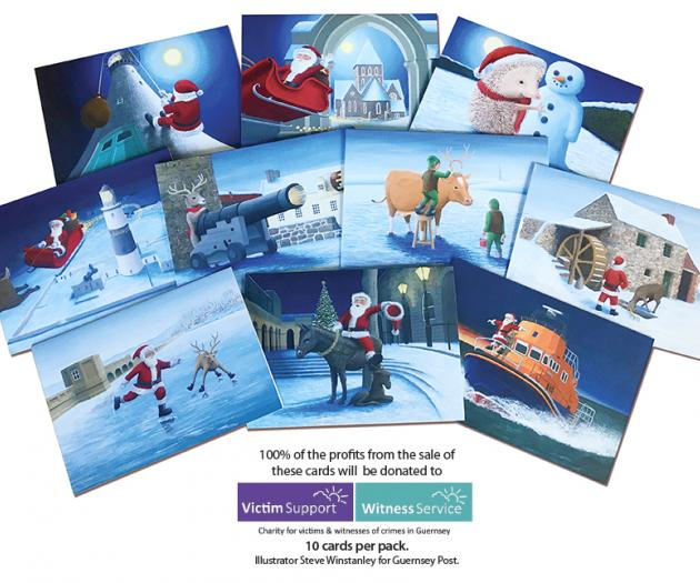 Guernsey Post Charity Cards - pack of 10 designs