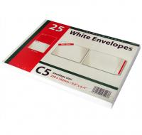 C5 white envelopes