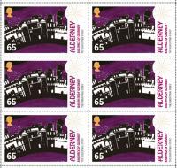 Alderney Christmas 65p UK stamp