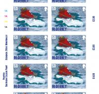 Santa's Visit - Alderney 50p sheet of 10