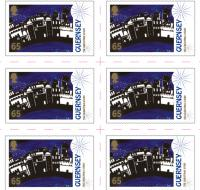 The Christmas Story - Guernsey 65p UK stamp sheet of 10