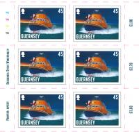 Santa's Visit - Guernsey 45p sheet of 10