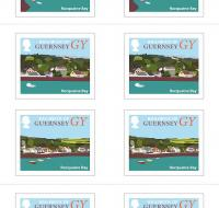 Image showing Guernsey Booklet of 10 Coasts Stamps