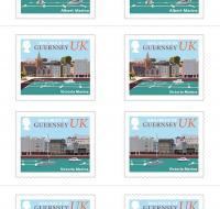 UK Stamp Booklet - Coasts x10