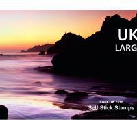 UK Booklet of 4 Large Letter Stamps