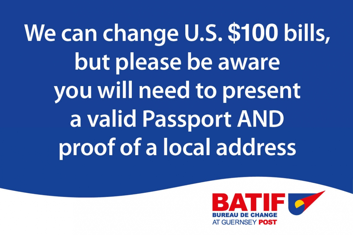 BATIF Foreign Exchange Guernsey | Guernsey Post